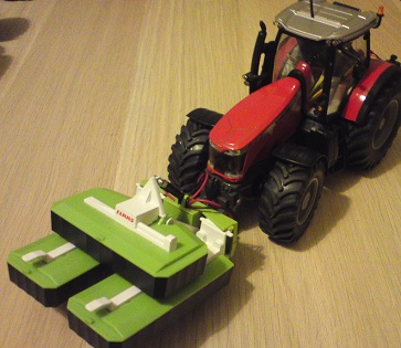 Massey 8680 RC Conversion