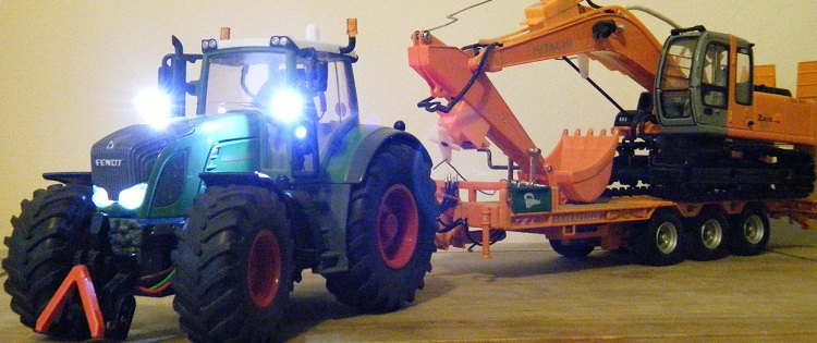 Homemade Radio Controlled Fendt 936